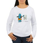 Superstitious Doggy - Friday Women's Long Sleeve T