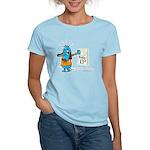 Superstitious Doggy - Friday Women's Light T-Shirt