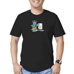 Superstitious Doggy - Friday Men's Fitted T-Shirt