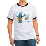 Superstitious Doggy - Friday Ringer T