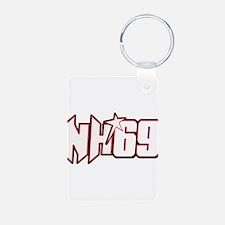 NH69line Aluminum Photo Keychain