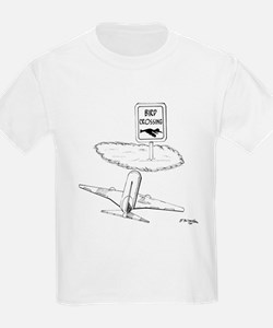 Warning, Bird Crossing T-Shirt