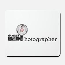 Photographer- Mousepad