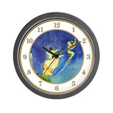 Peter Pan, Wendy, John & Michael Wall Clock