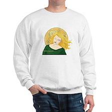 Grania and the Celtic spiral sun Sweatshirt