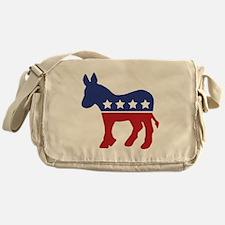 Democrat Donkey Messenger Bag