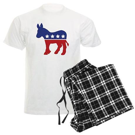 Democrat Donkey Men's Light Pajamas