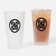 maru ni chigai takanoha Drinking Glass