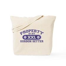 Gordon Setter PROPERTY Tote Bag
