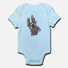 NBlu Upsidedown Infant Bodysuit