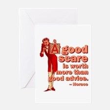 A Good Scare Greeting Card