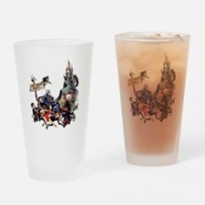 Mad Monster Party Drinking Glass