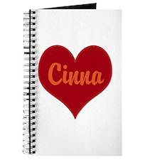 I Love Cinna Journal