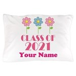 Personalized 2021 School Class Pillow Case