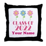 Personalized 2022 School Class Throw Pillow