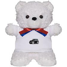 Wrangler Black Car Teddy Bear