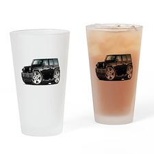 Wrangler Black Car Drinking Glass
