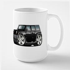 Wrangler Black Car Large Mug