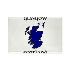Funny Golf scotland Rectangle Magnet