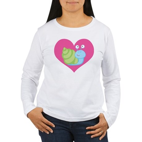 Hermit Crab Love Gift Women's Long Sleeve T-Shirt