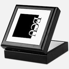 ECU Typography Keepsake Box