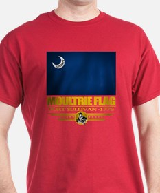 """Moultrie Flag"" T-Shirt"