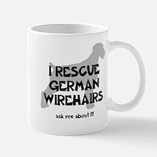 I RESCUE German Wirehairs Mug