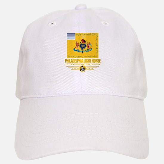 """Philadelphia Light Horse"" Baseball Baseball Cap"
