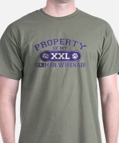 German Wirehair PROPERTY T-Shirt