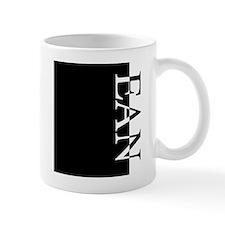 EAN Typography Small Mug