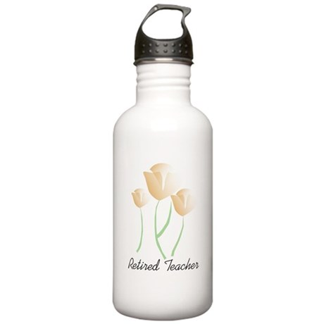 Retired Teacher Stainless Water Bottle 1.0L