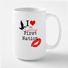 Kichesipirini Algonquin First Large Mug