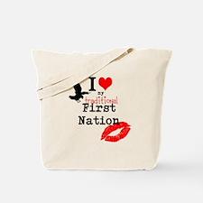 Kichesipirini Algonquin First Tote Bag