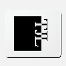 TJL Typography Mousepad