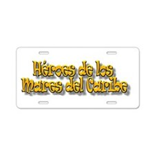 Cute Isabell Aluminum License Plate