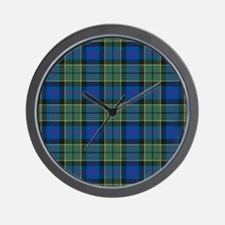 Tartan - Forsyth Wall Clock