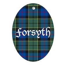 Tartan - Forsyth Ornament (Oval)