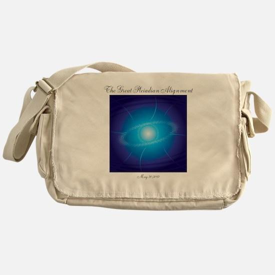 Pleiadian Alignment Messenger Bag