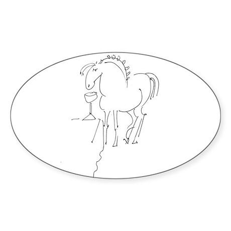 Pony Buddy Sticker (Oval 50 pk)