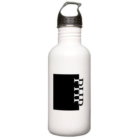 PHP Typography Stainless Water Bottle 1.0L