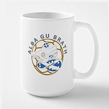 Alba gu Brath Football Large Mug