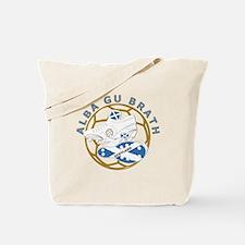 Alba gu Brath Football Tote Bag