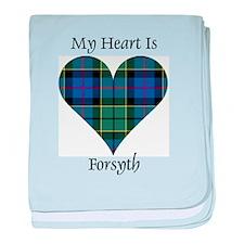 Heart - Forsyth baby blanket