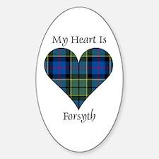 Heart - Forsyth Sticker (Oval)