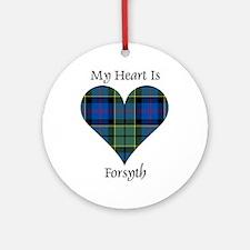 Heart - Forsyth Ornament (Round)