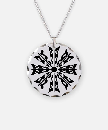Wheel of eight arrows Necklace