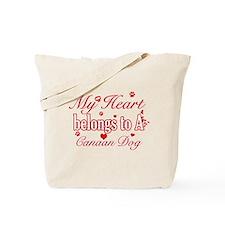 Canaan Dog Designs Tote Bag