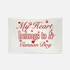 Canaan Dog Designs Rectangle Magnet