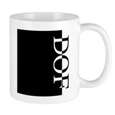 DOF Typography Mug