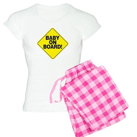 Baby on Board! Women's Light Pajamas